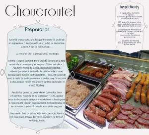 Recette-choucroute