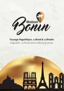 COUVERTURE PLAQUETTE MAISON BONIN 2016